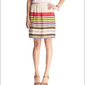 Loft • Aloha Stripe Skirt